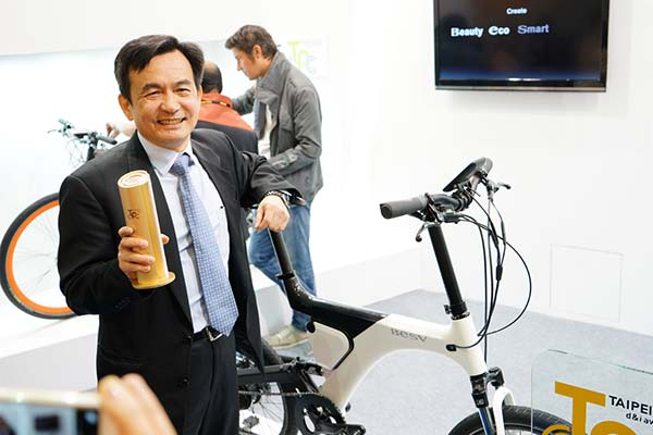 BESV News & Events | BESV's e-Bike Wins Taipei Cycle d&i Gold Award.